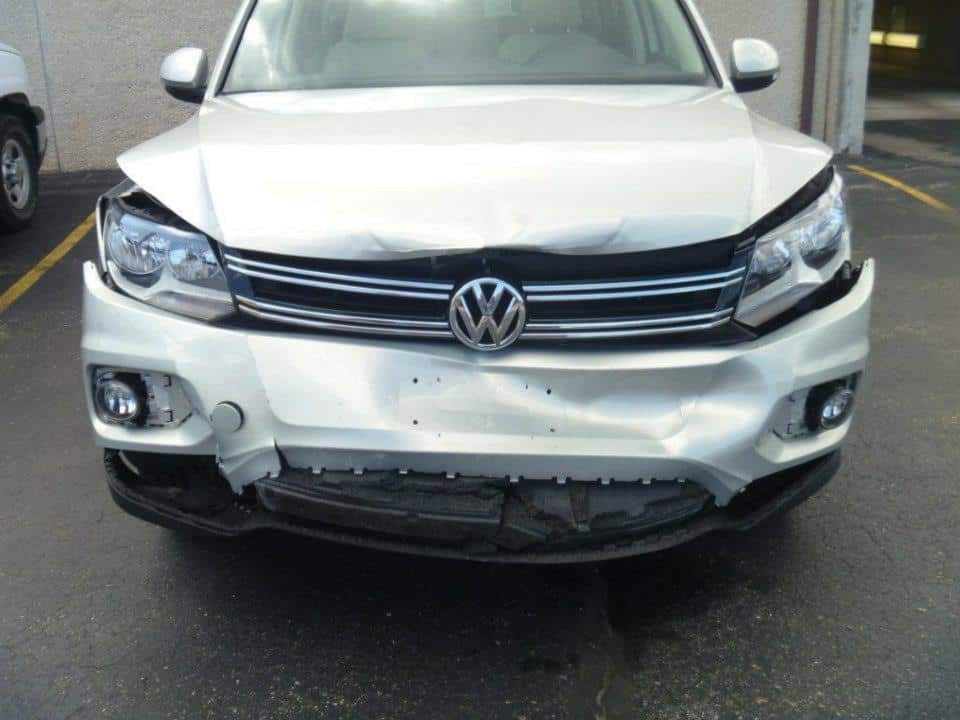 Damaged Vehicle in need of body work