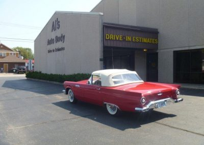 1957 red Ford Thunderbird | Car Restoration photo 1