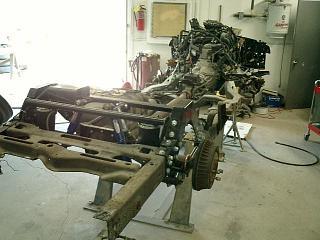 1999 Chevy S-10 Restoration | Body removed