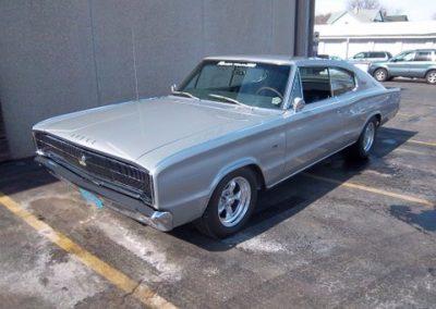 1966 Dodge Charger Restoration | Finished front angle