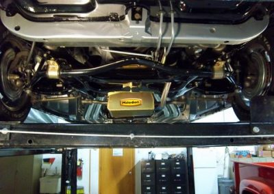 1966 Dodge Charger Restoration | Shot of work under car 3