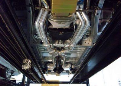 1966 Dodge Charger Restoration | Shot of work under car 4